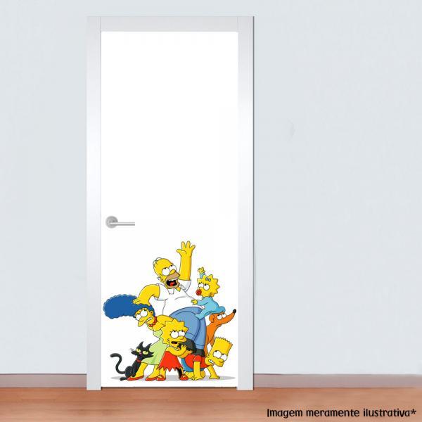 Adesivo para Porta Família Simpsons