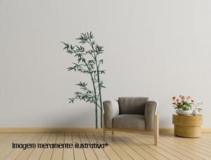 Adesivo de Parede Bambu Vinil Adesivo    Refile Especial