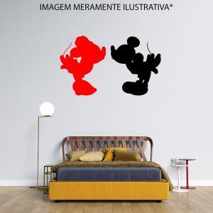 Adesivo de Parede Beijo do Mickey e Minnie Vinil Adesivo    Refile Especial