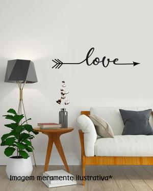 Adesivo de Parede Love Vinil Adesivo    Refile Especial