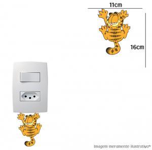 Adesivo Interruptor Garfield Vinil Adesivo    Refile Especial