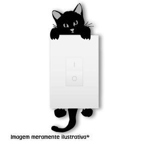 Adesivo Interruptor Gato 5 Vinil Adesivo    Refile Especial
