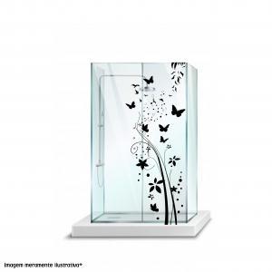 Adesivo para Box Floral Vinil Adesivo    Refile Especial