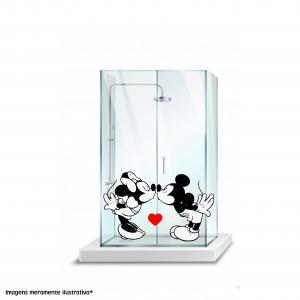 Adesivo para Box Minnie e Mickey Vinil Adesivo    Refile Especial
