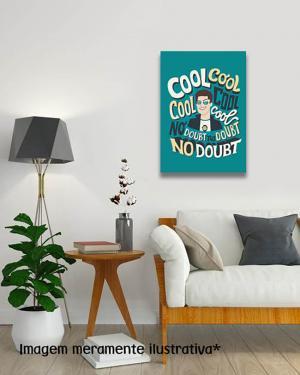 Placa Decorativa Brooklin99 MDF Adesivado    Refile Reto